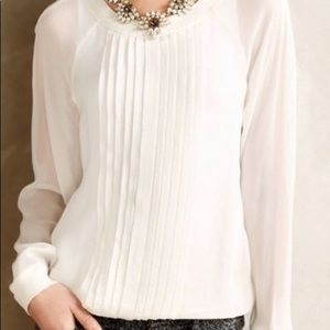 Anthropologie Anisy One Fine Day Blouse